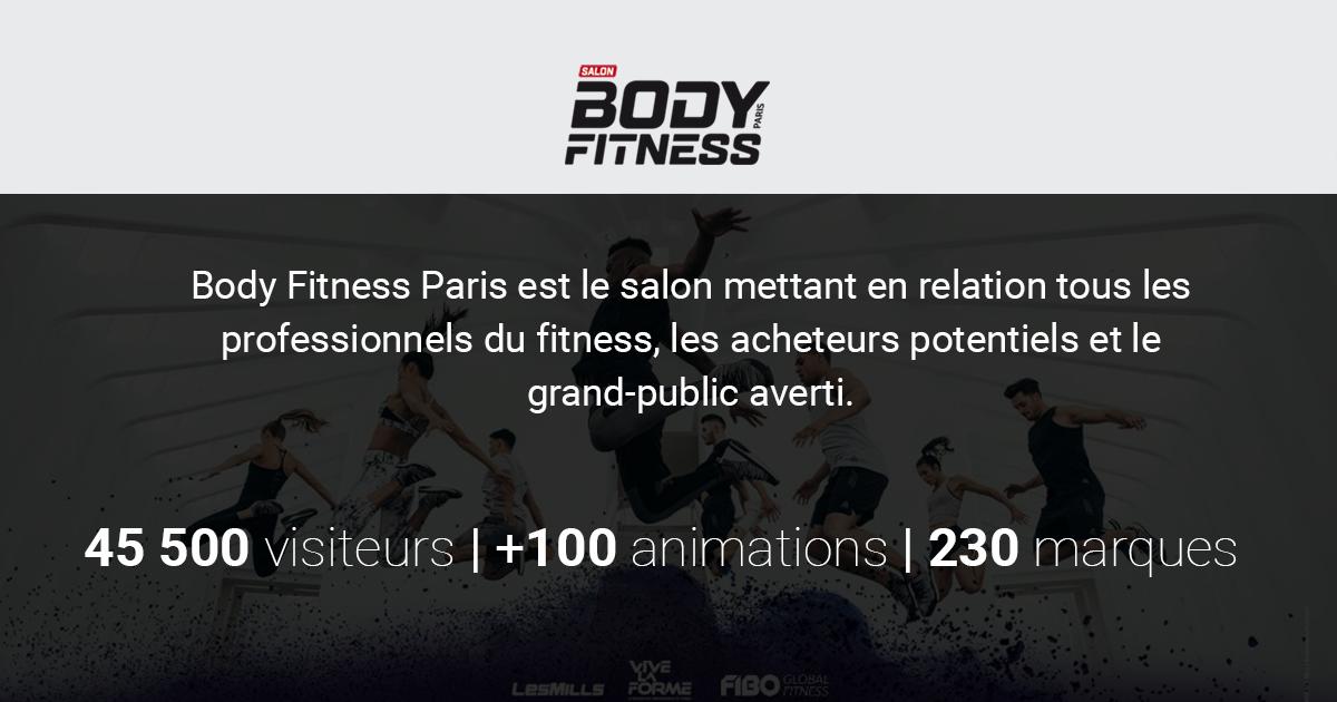 Vos billets pour le salon body fitness paris 2019 - Salon de l agriculture billet ...